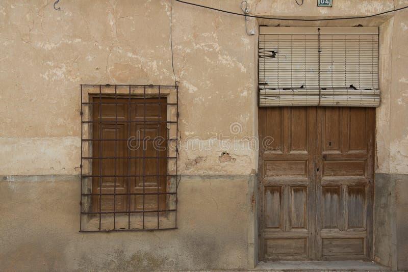 Puertas y ventanasviejas 23 royalty-vrije stock afbeeldingen