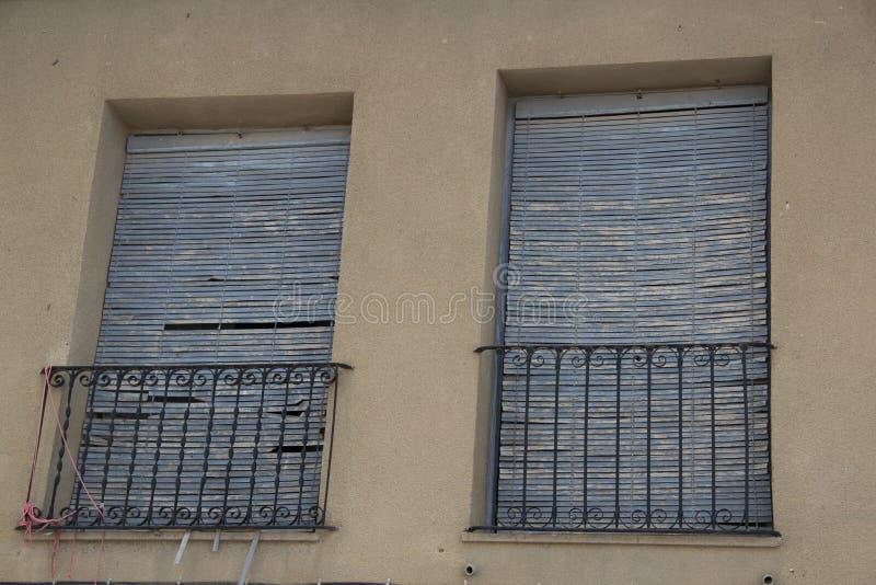 Puertas y ventanasviejas 22 royalty-vrije stock fotografie