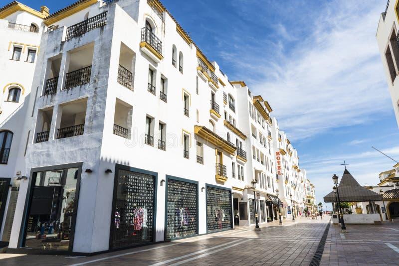 puerto Испания marbella banus стоковое фото