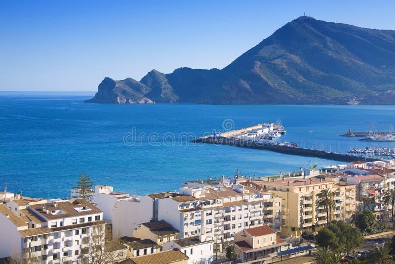 puerto altea de порта стоковое фото rf