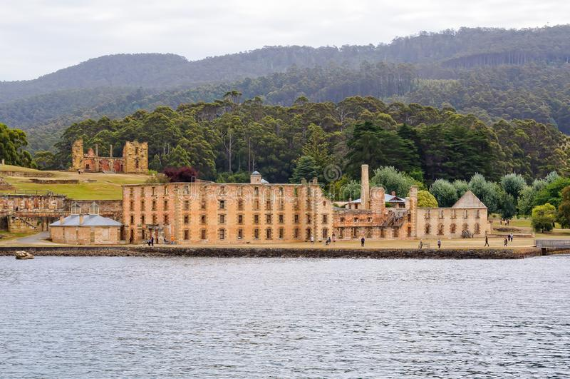 Puerto Arthur Historic Site - Tasmania imagen de archivo