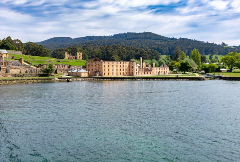 Puerto Arthur Historic Site - Tasmania - Australia fotografía de archivo