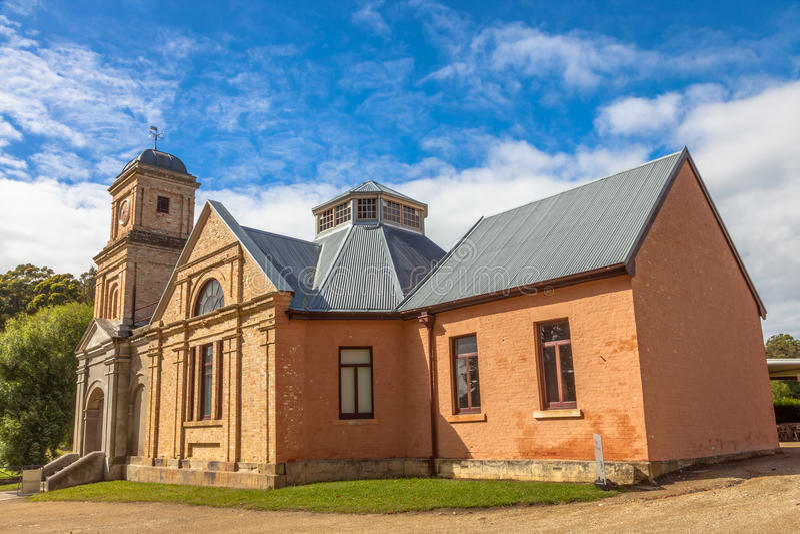 Puerto Arthur Tasmania: El asilo fotos de archivo libres de regalías