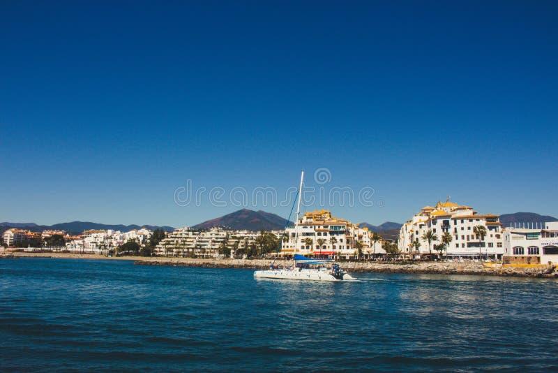 Puerto Banus fotografia stock libera da diritti