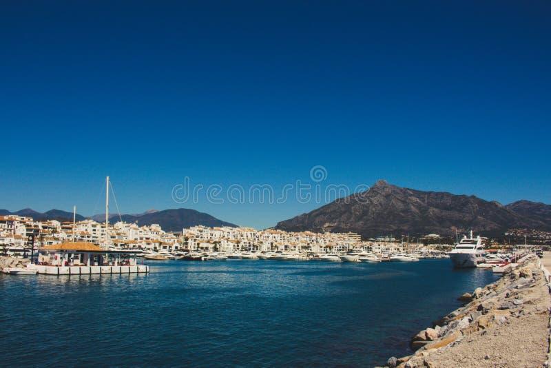 Puerto Banus fotografia stock