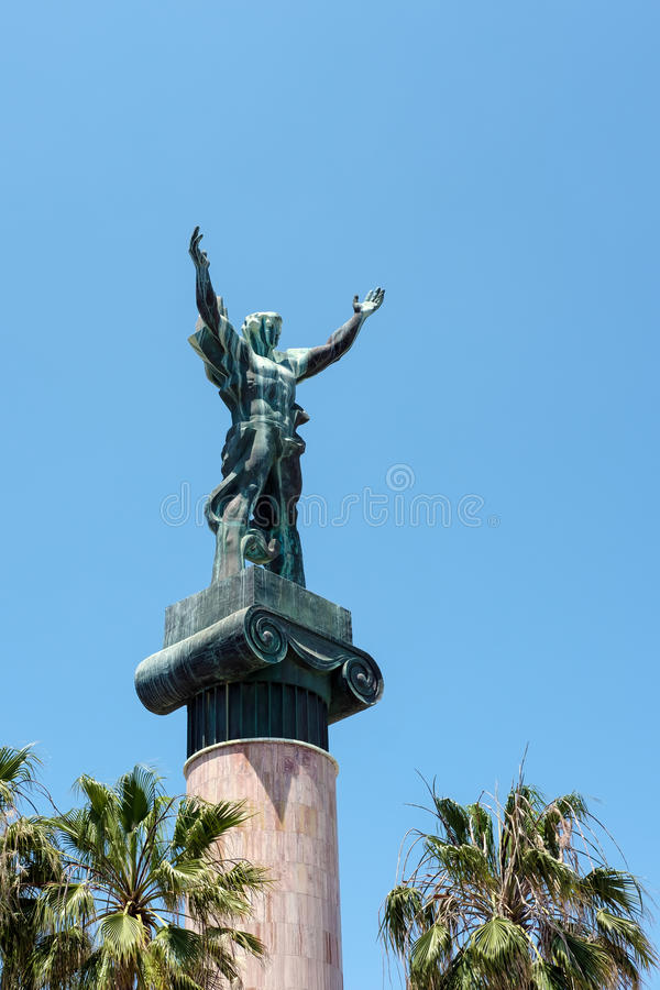 PUERTO BANUS ANDALUCIA/SPAIN - 26-ОЕ МАЯ: Ла Виктория или победа s стоковые фото