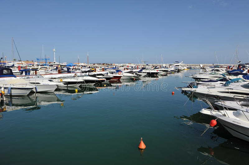 Puerto Banus, Costa del Sol, Spain royalty free stock photos