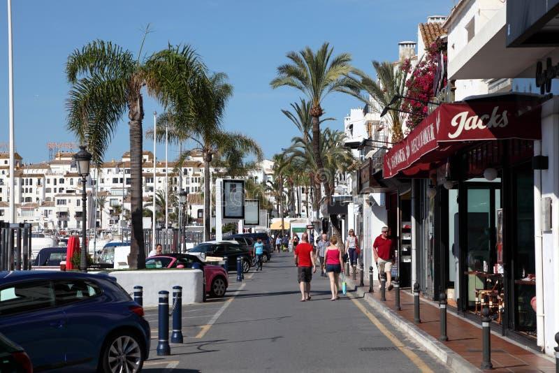 Puerto Banus, Marbella, Espagne images stock