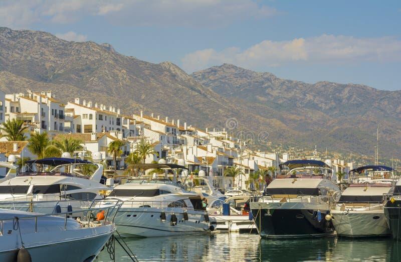 Puerto Banus, Marbella, Spain fotografia de stock royalty free