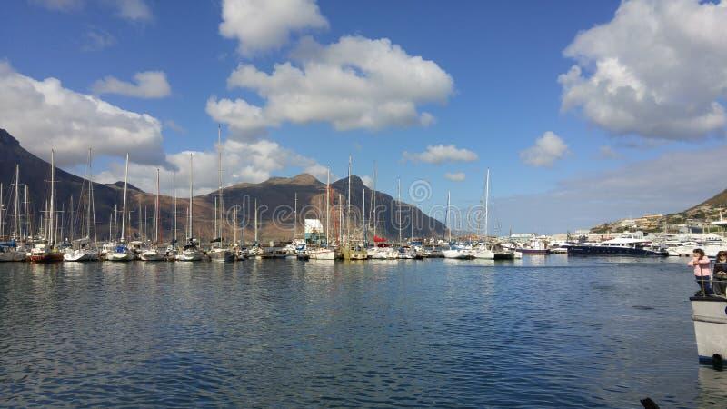 Puerto Cape Town foto de archivo