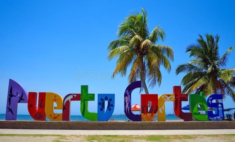 Puerto Cortes Ονδούρα στοκ εικόνες