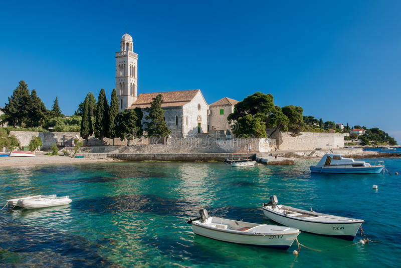 Puerto croata fotografía de archivo