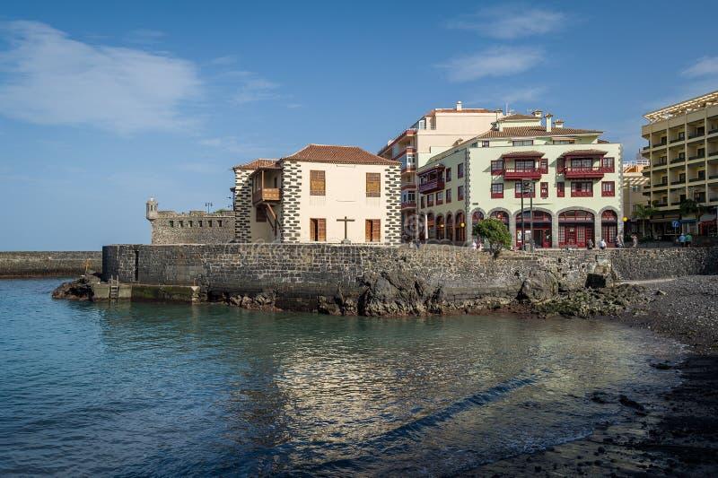 Puerto de Ла Cruz, остров Тенерифе стоковая фотография