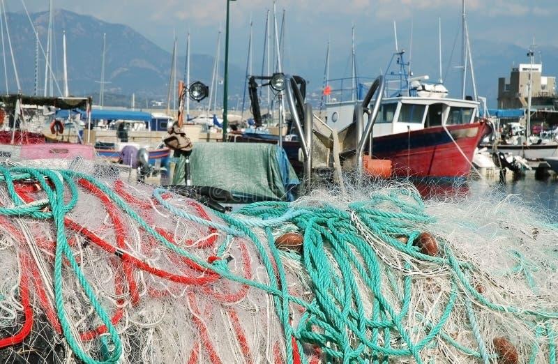Puerto de Ajacio, Córcega fotografía de archivo libre de regalías