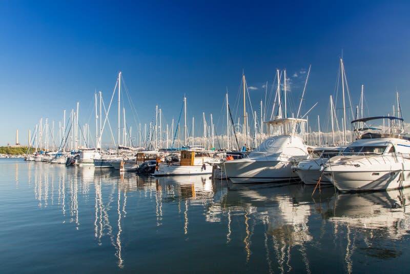 Puerto de Alcudia fotografía de archivo libre de regalías
