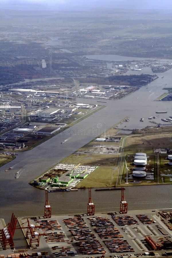 Puerto de Amsterdam fotos de archivo libres de regalías