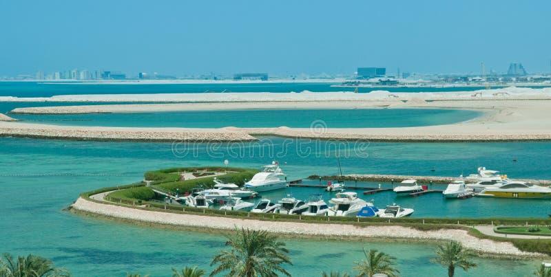 Puerto de Bahrein imágenes de archivo libres de regalías