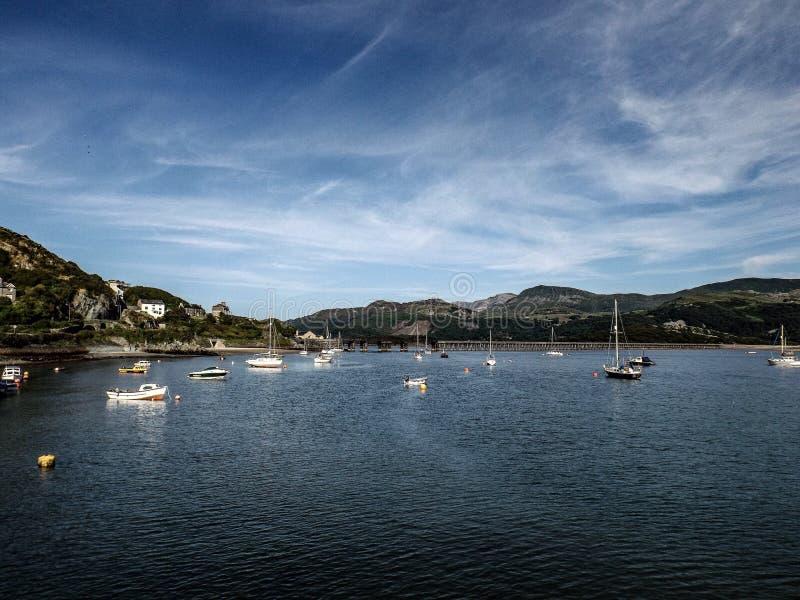 Puerto de Barmouth imagenes de archivo