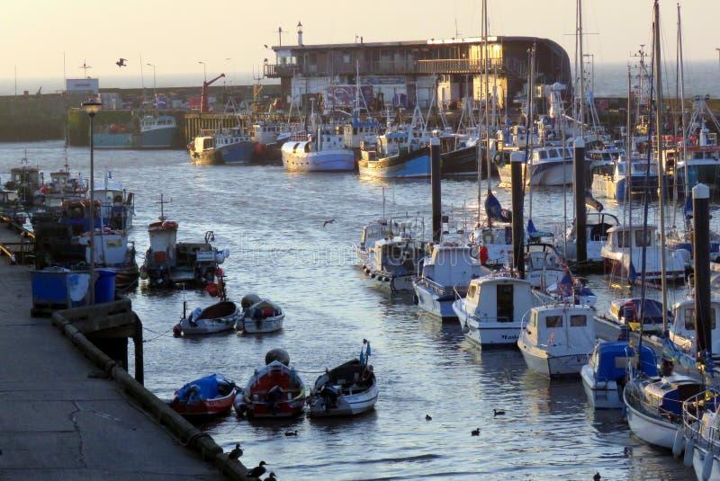 Puerto de Bridlington imagenes de archivo