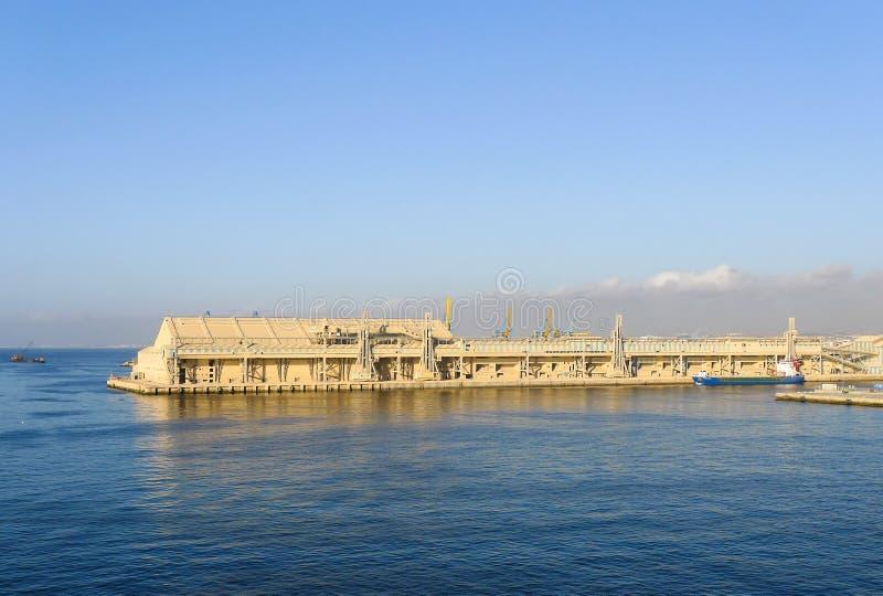 Puerto de Casablanca fotografía de archivo