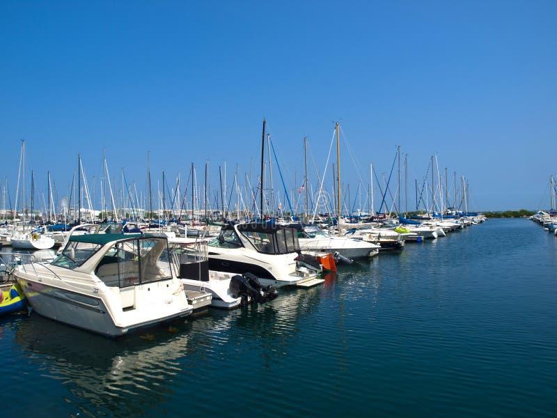 Puerto de Chicago imagen de archivo libre de regalías