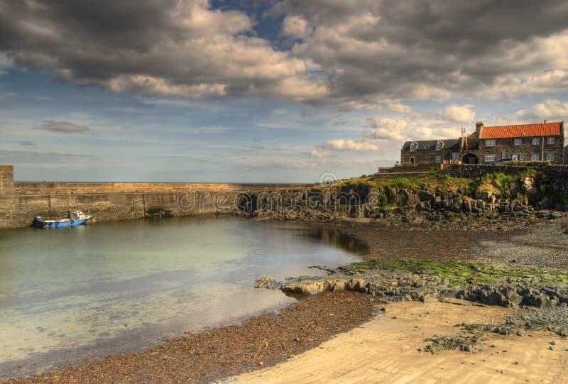 Puerto de Craster imágenes de archivo libres de regalías