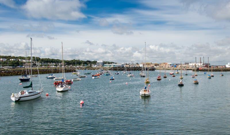 Puerto de Dublín Howth fotografía de archivo libre de regalías