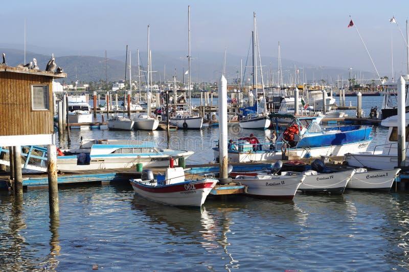 Puerto de Ensenada fotos de archivo
