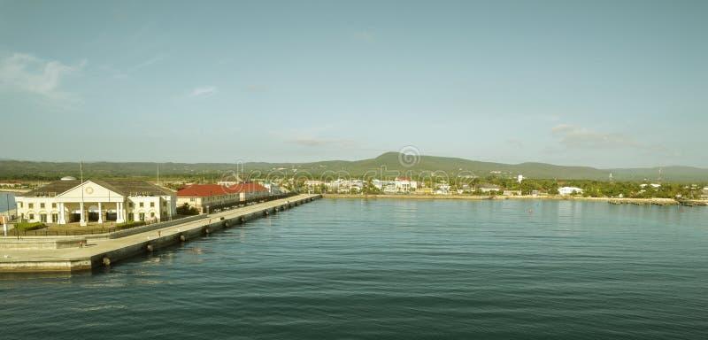 Puerto de Falmouth en Jamaica fotografía de archivo libre de regalías