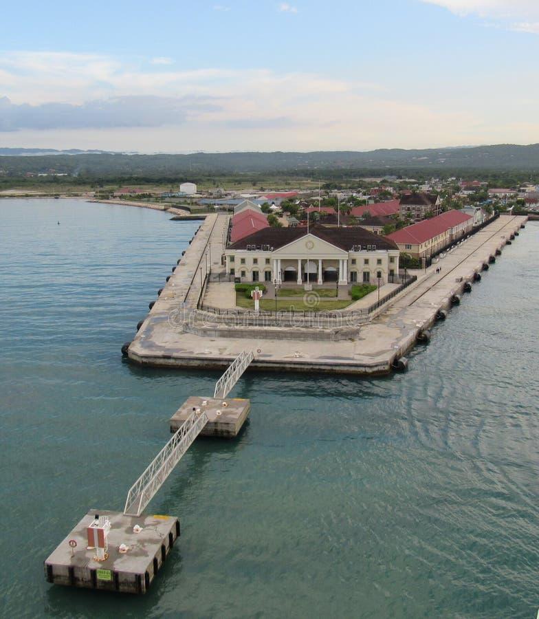 Puerto de Falmouth Jamaica imágenes de archivo libres de regalías