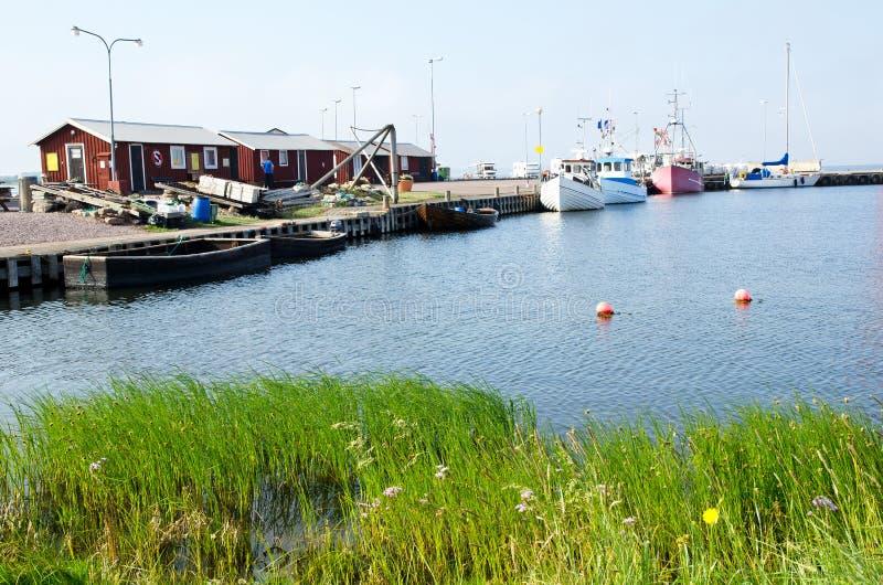 Puerto de Fishermen´s foto de archivo