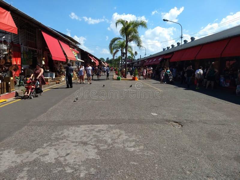 Puerto de frutos in Tigre immagine stock