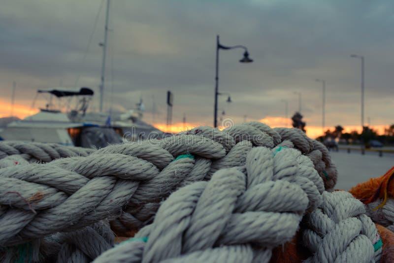 Puerto de Grecia fotografía de archivo libre de regalías