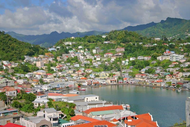 Puerto de Grenada imagen de archivo