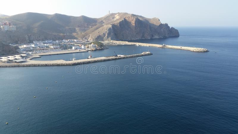 Puerto de hoceima del Al, Marruecos fotos de archivo libres de regalías