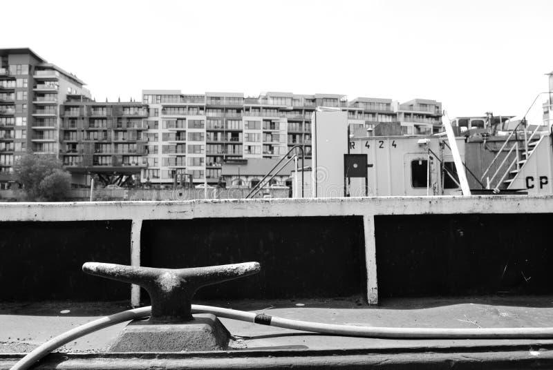 Puerto de Holesovice, Praga fotografía de archivo libre de regalías
