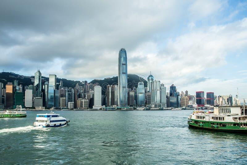 Download Puerto De Hong-Kong Victoria Foto de archivo - Imagen de asia, recorrido: 42431678