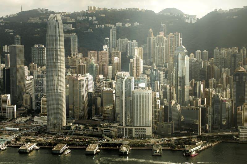 Download Puerto De Hong-Kong Victoria Imagen de archivo - Imagen de kowloon, cielo: 42431747