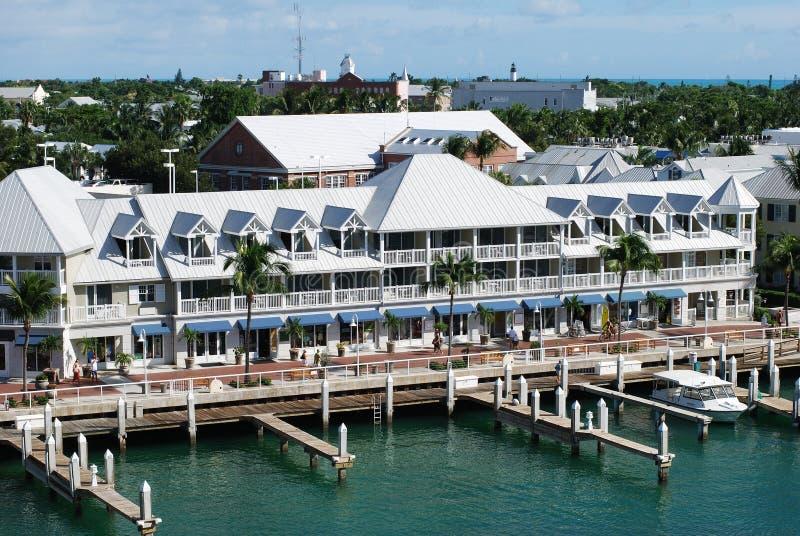 Puerto de Key West imagen de archivo