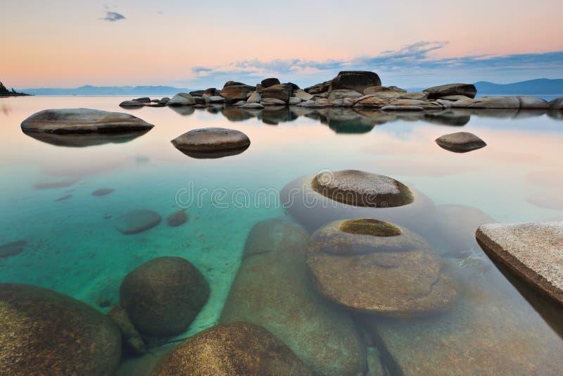 Puerto de la arena, Lake Tahoe imagen de archivo libre de regalías