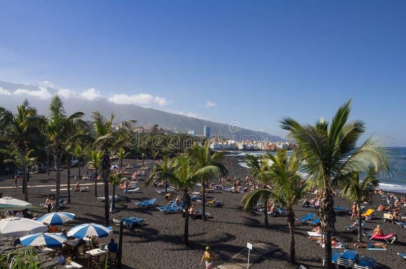 Puerto De La Cruz 库存图片