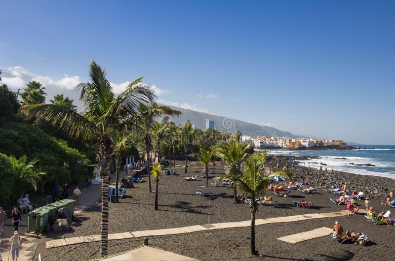 Puerto De La Cruz 免版税库存图片