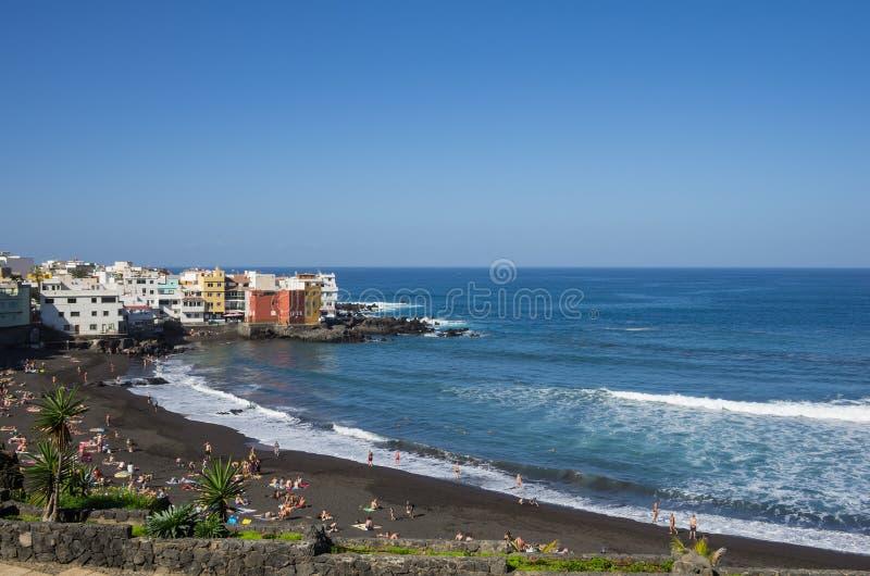 Puerto De La Cruz 免版税库存照片