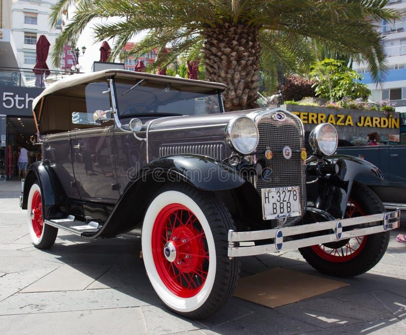 Download PUERTO DE LA CRUZ - JULY 14: Ford Model A At Town Boulevard, On Editorial Photo - Image: 32472096