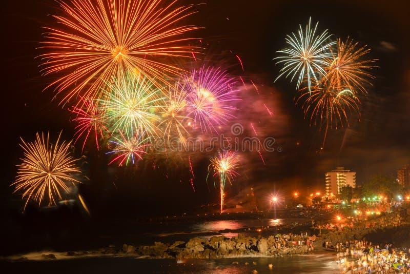 Puerto de la Cruz, Tenerife fotos de archivo libres de regalías