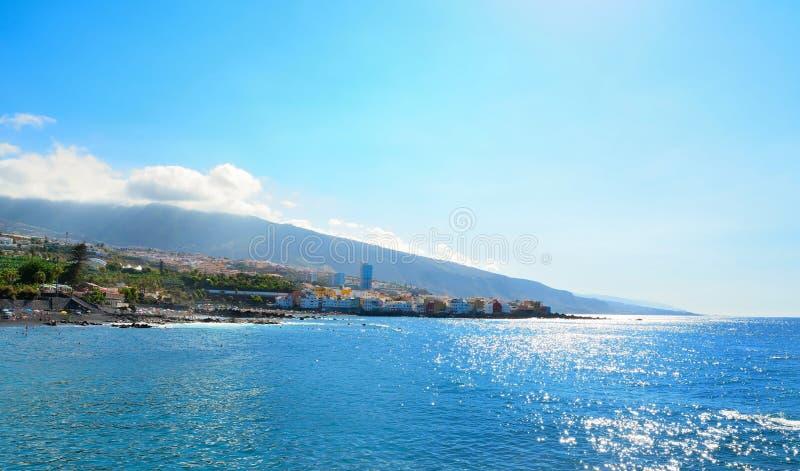 Puerto de la Cruz, Tenerife royalty-vrije stock fotografie