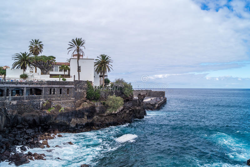 Puerto de la Cruz, Tenerife fotografia stock libera da diritti