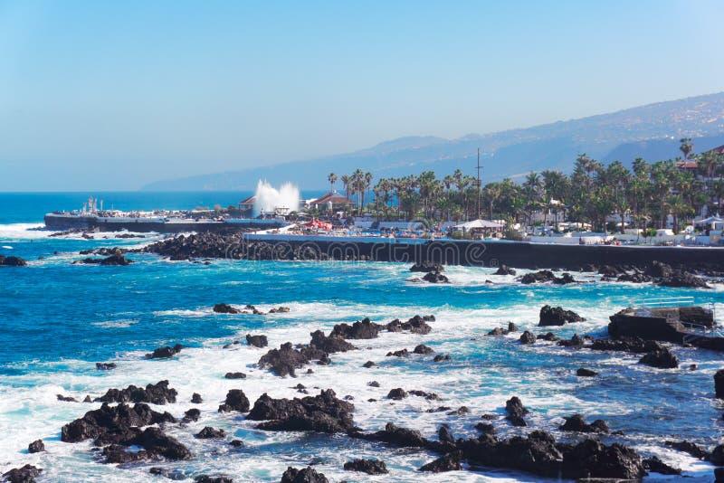 Puerto de la Cruz, Tenerife royalty-vrije stock foto