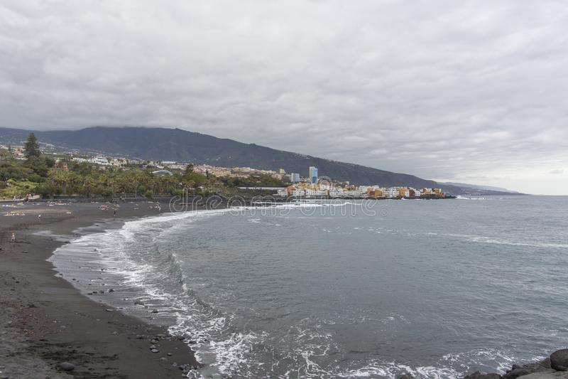 Puerto De La Cruz, Tenerife, Canary Islands - View Of ...