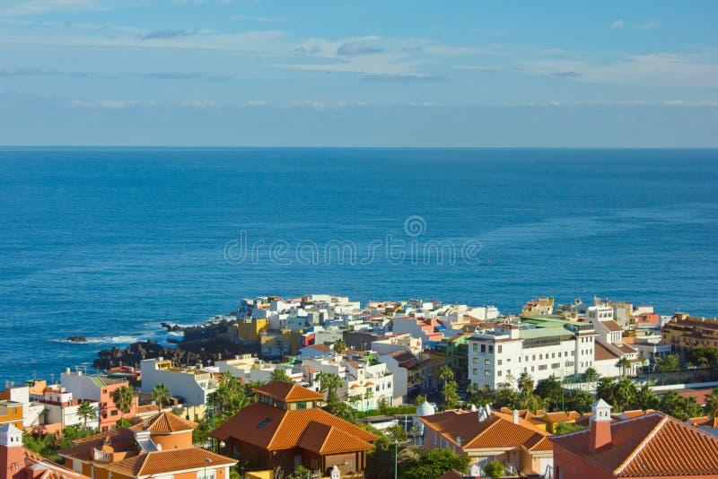 Puerto DE La Cruz, Tenerife, Spanje royalty-vrije stock foto